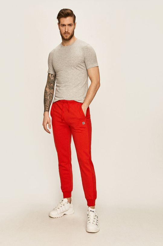 Russell Athletic - Kalhoty červená