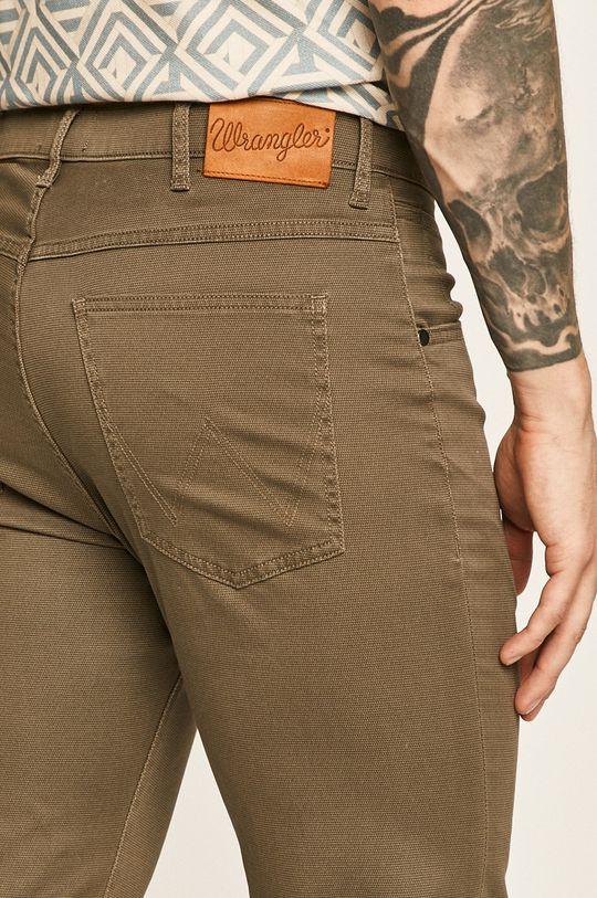 olivová Wrangler - Kalhoty