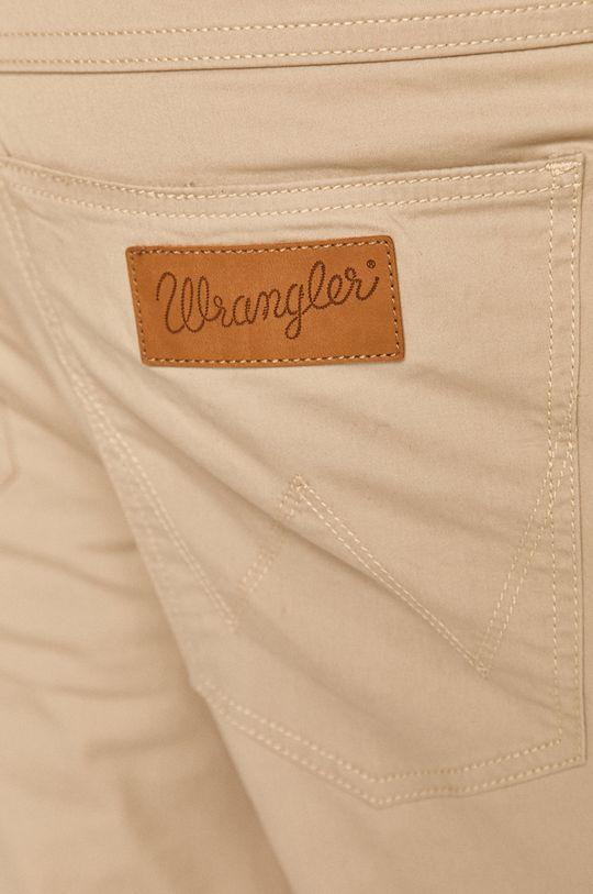 piaskowy Wrangler - Spodnie
