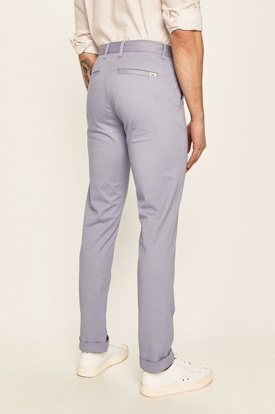 Lacoste - Pantaloni 98% Bumbac, 2% Elastan