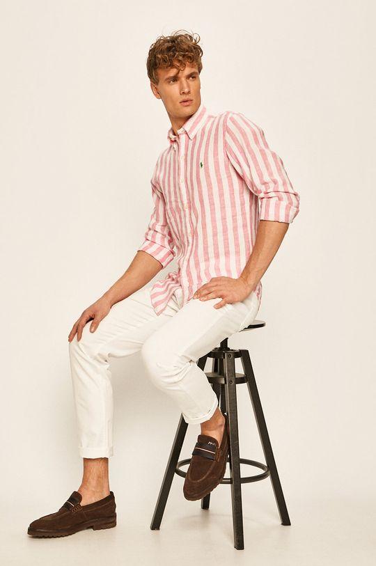 Pierre Cardin - Kalhoty bílá