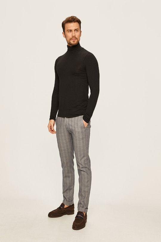 Pierre Cardin - Kalhoty námořnická modř