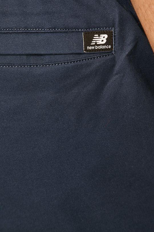 granatowy New Balance - Spodnie