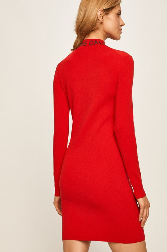 Calvin Klein Jeans - Šaty  36% Bavlna, 28% Polyamid, 35% Polyester, 1% Jiný materiál