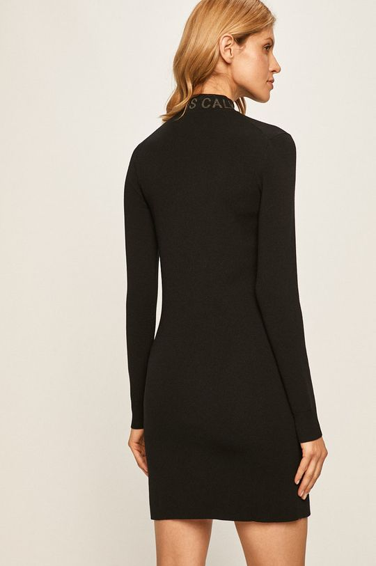 Calvin Klein Jeans - Rochie  36% Bumbac, 28% Poliamida, 35% Poliester , 1% Alt material