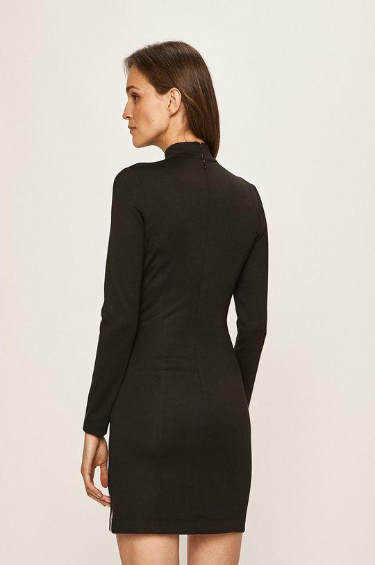 Calvin Klein Jeans - Rochie 4% Elastan, 77% Poliester, 19% Viscoza
