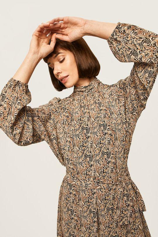 brązowy Vero Moda - Sukienka