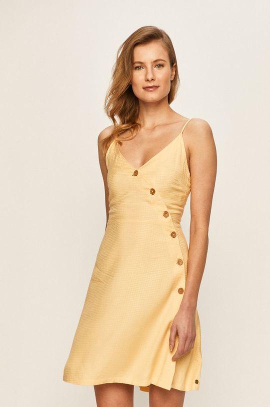 žlutá Roxy - Šaty Dámský