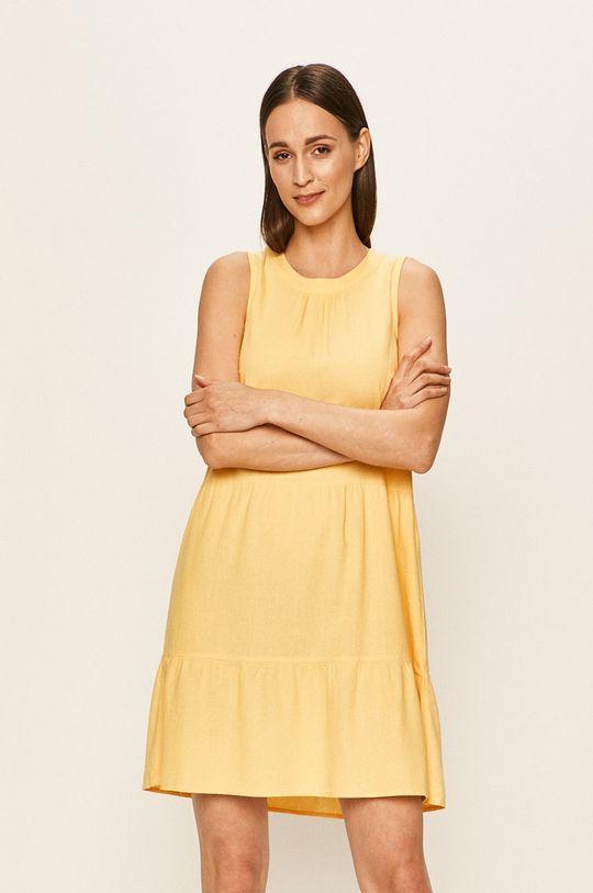 żółty Vero Moda - Sukienka Damski