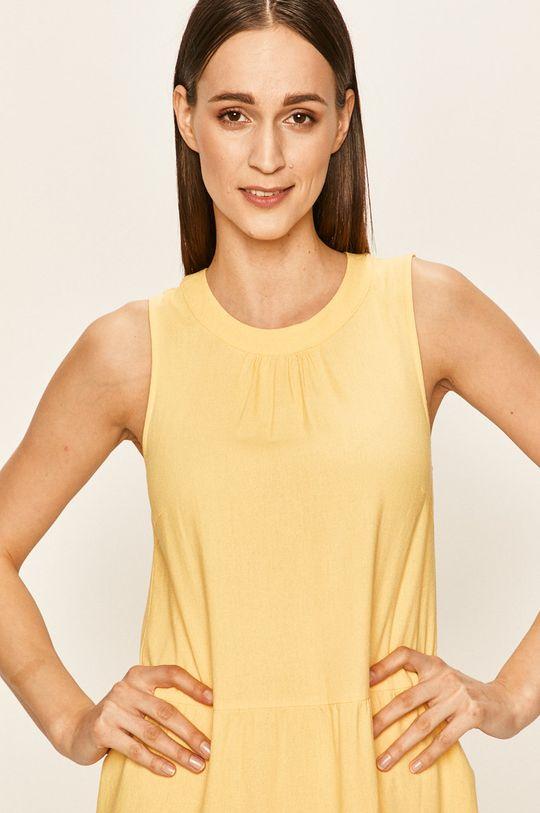 żółty Vero Moda - Sukienka