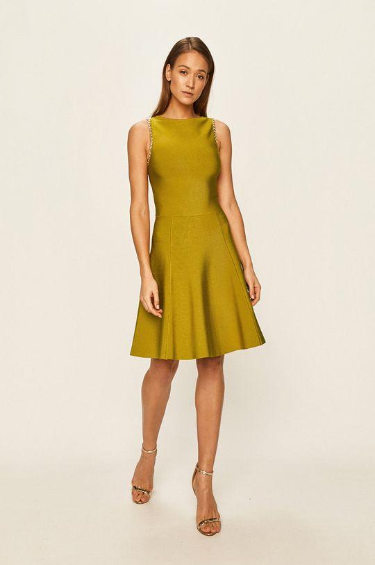 Marciano Guess - Šaty olivová