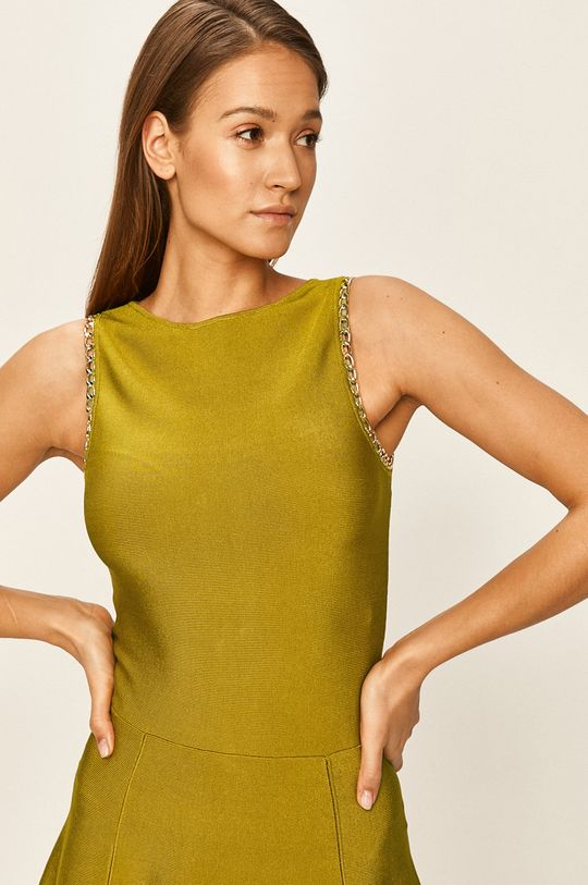 olivová Marciano Guess - Šaty