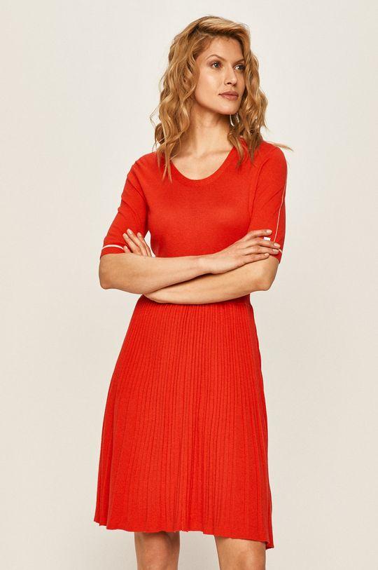 červená Calvin Klein - Šaty Dámsky