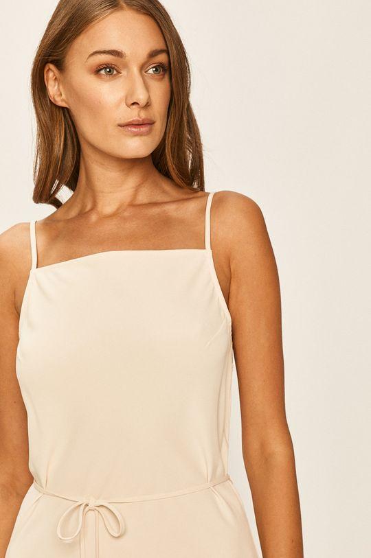 Calvin Klein - Šaty smetanová