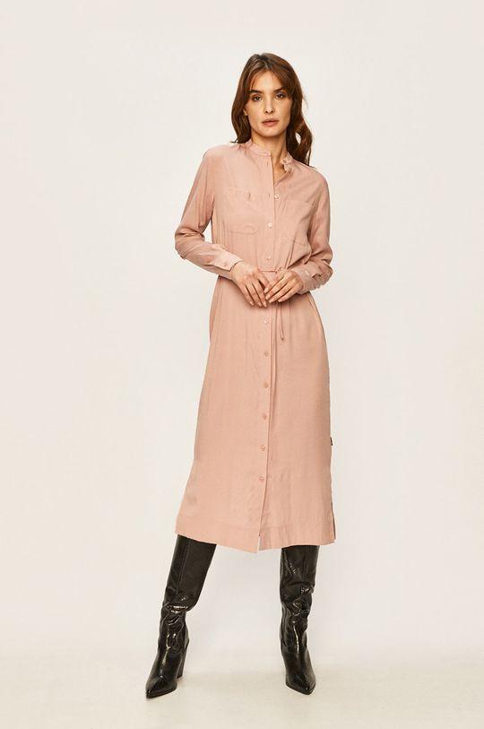 růžová Calvin Klein - Šaty Dámský