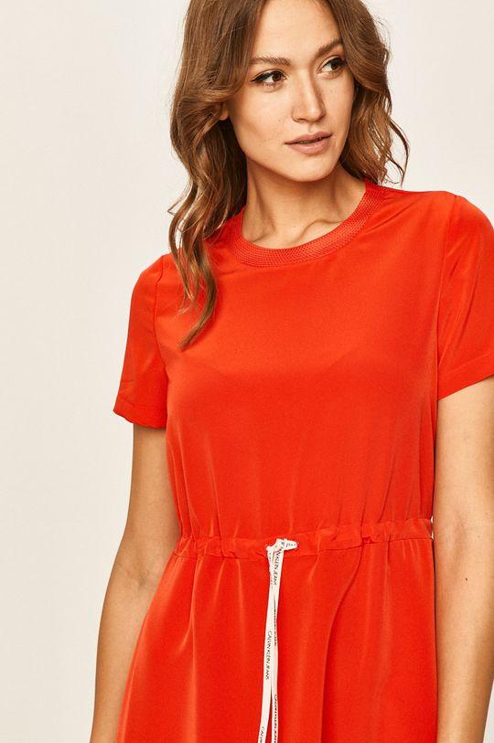 červená Calvin Klein Jeans - Šaty
