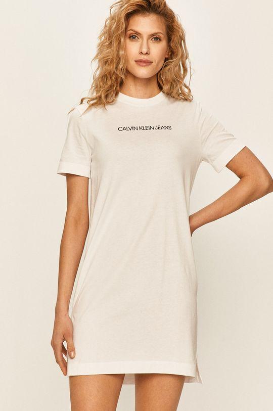 alb Calvin Klein Jeans - Rochie De femei