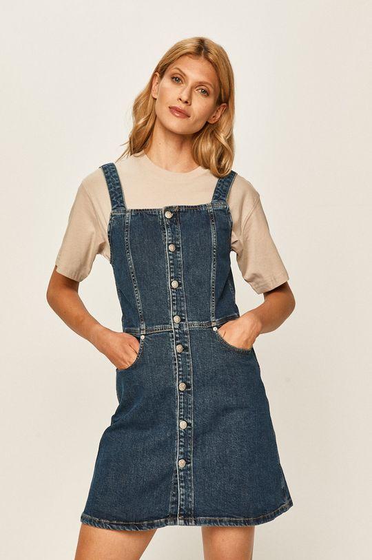 granatowy Calvin Klein Jeans - Sukienka jeansowa Damski