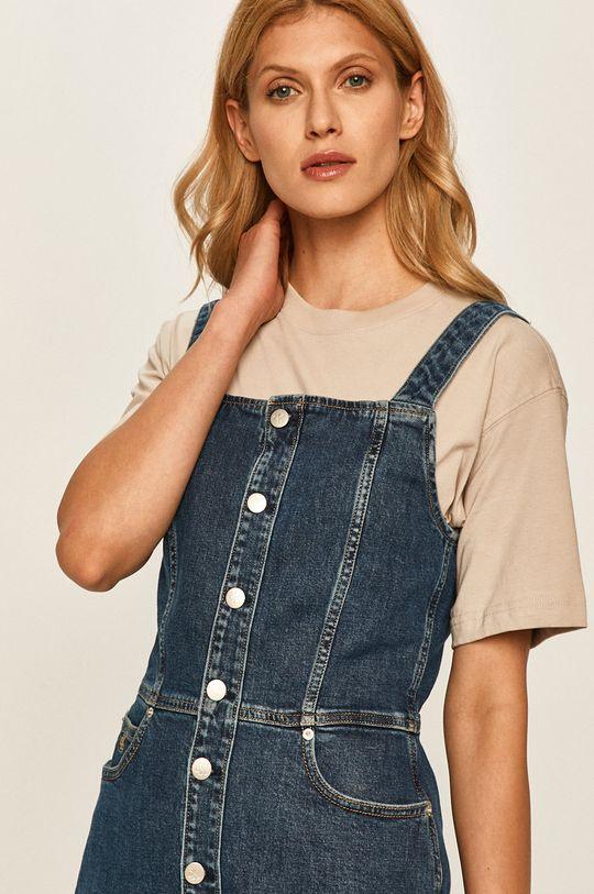 granatowy Calvin Klein Jeans - Sukienka jeansowa