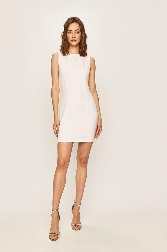 Guess Jeans - Šaty biela
