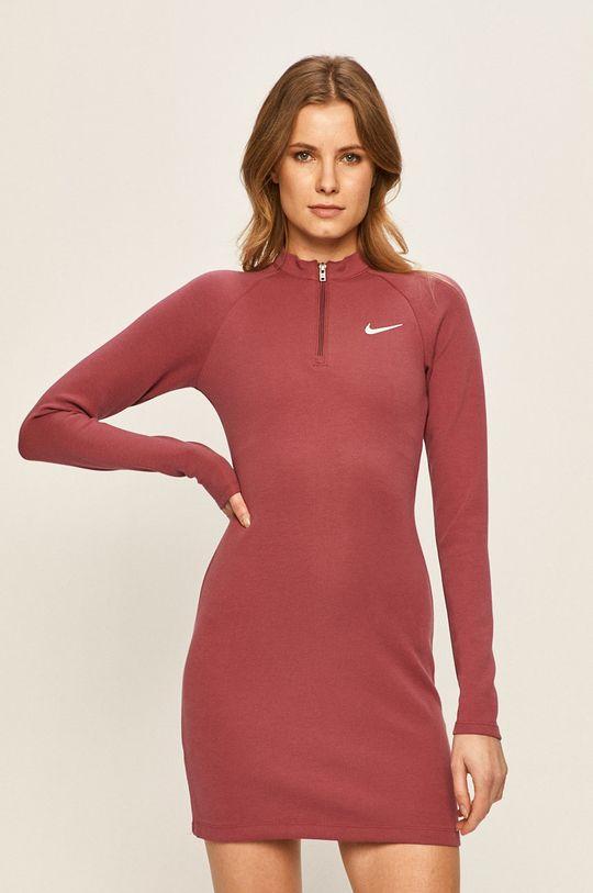 fialovo-růžová Nike Sportswear - Šaty Dámský