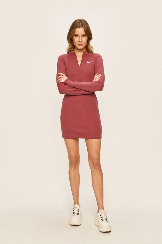 Nike Sportswear - Šaty fialovo-růžová