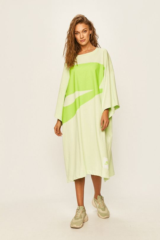 světle zelená Nike Sportswear - Šaty Dámský
