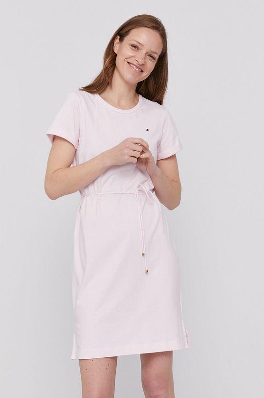 różowy Tommy Hilfiger - Sukienka Damski