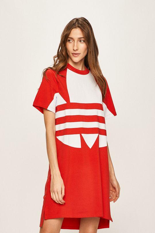 červená adidas Originals - Šaty Dámský