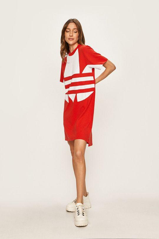 adidas Originals - Šaty červená