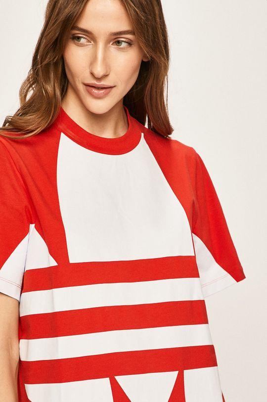 červená adidas Originals - Šaty