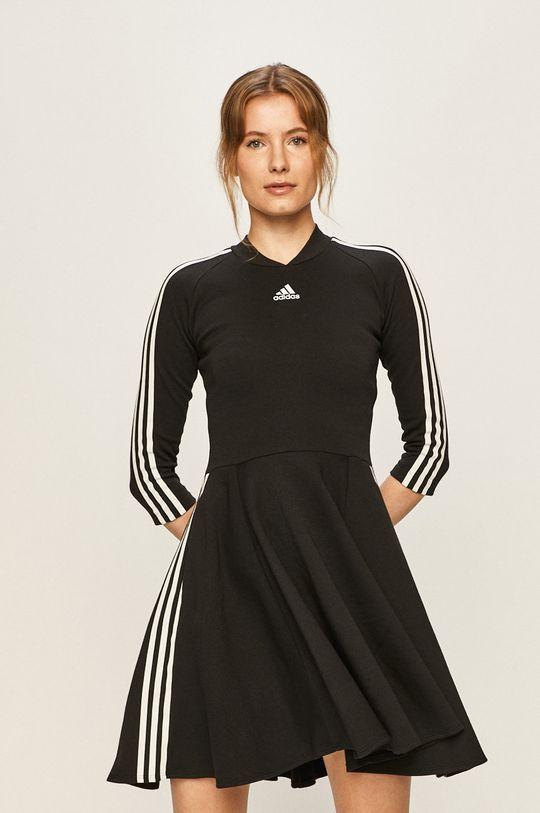 černá adidas Performance - Šaty Dámský