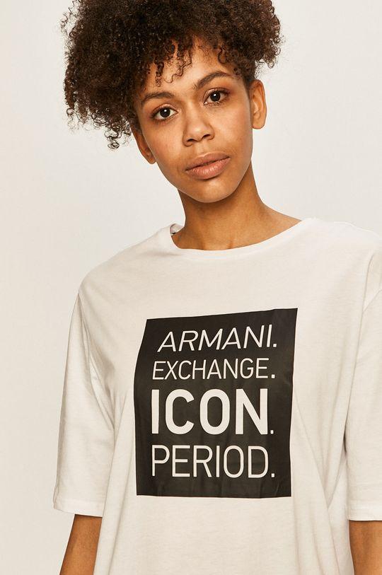 bílá Armani Exchange - Šaty