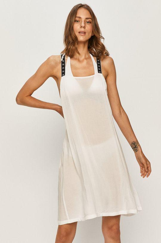 bílá Calvin Klein - Plážové šaty Dámský