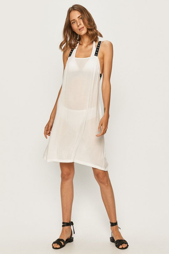 Calvin Klein - Plážové šaty bílá