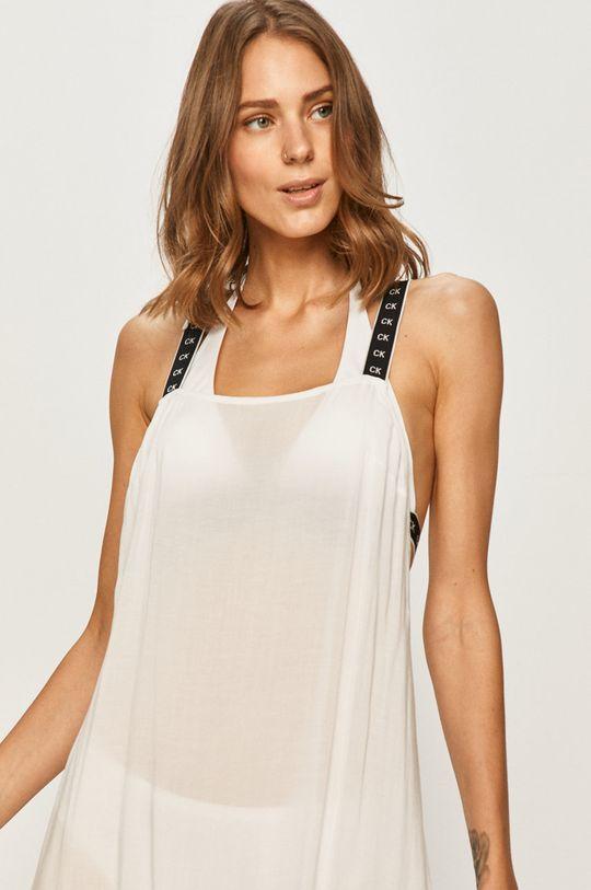 bílá Calvin Klein - Plážové šaty