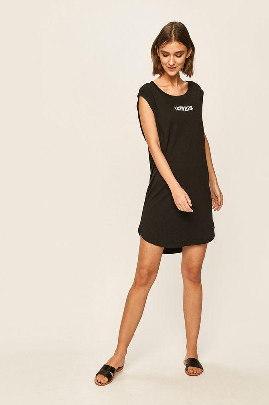 Calvin Klein - Plážové šaty černá