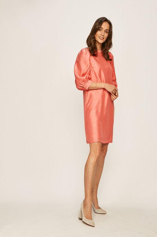 Vero Moda - Sukienka czerwony róż