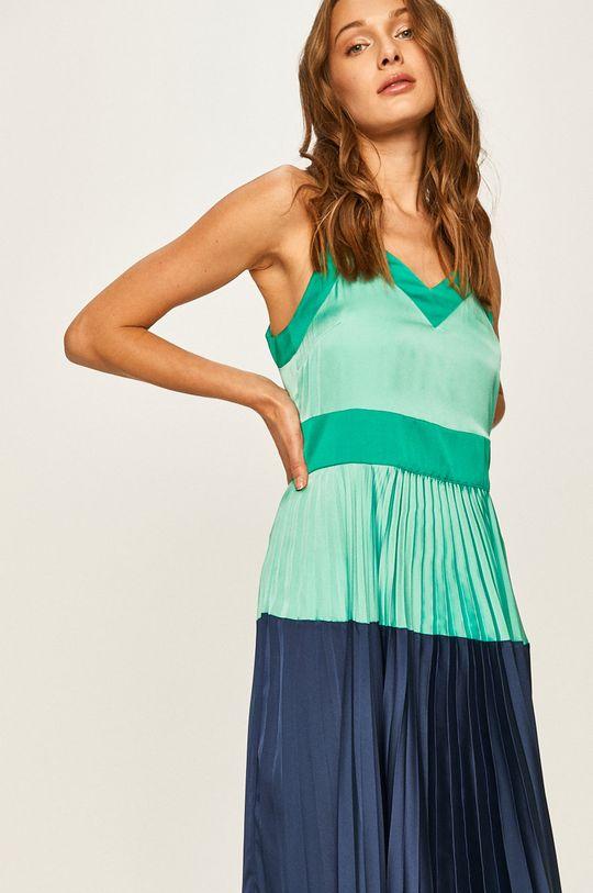 Twinset - Šaty tyrkysová modrá