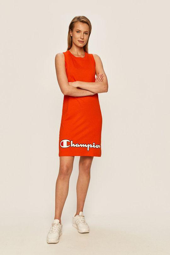 Champion - Sukienka pomarańczowy