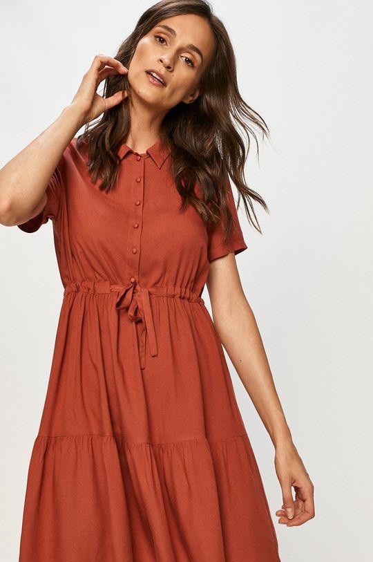 červená Vero Moda - Šaty Dámsky