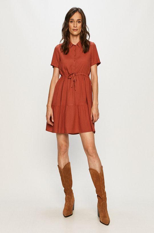 Vero Moda - Šaty červená