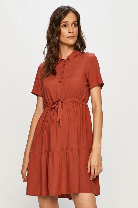 červená Vero Moda - Šaty