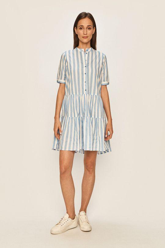 Vero Moda - Sukienka niebieski