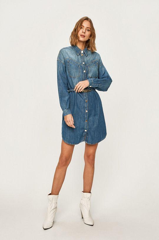 Pinko - Džínové šaty modrá