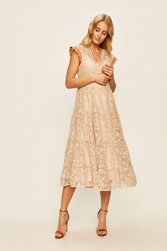 Pinko - Šaty písková