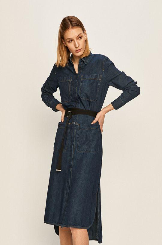námořnická modř Diesel - Džínové šaty Dámský