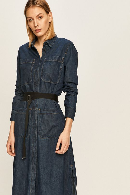 námořnická modř Diesel - Džínové šaty