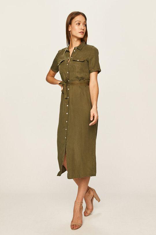 Noisy May - Šaty olivová