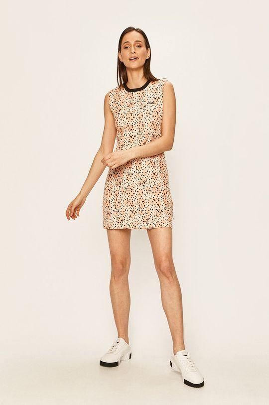 Vans - Sukienka brzoskwiniowy
